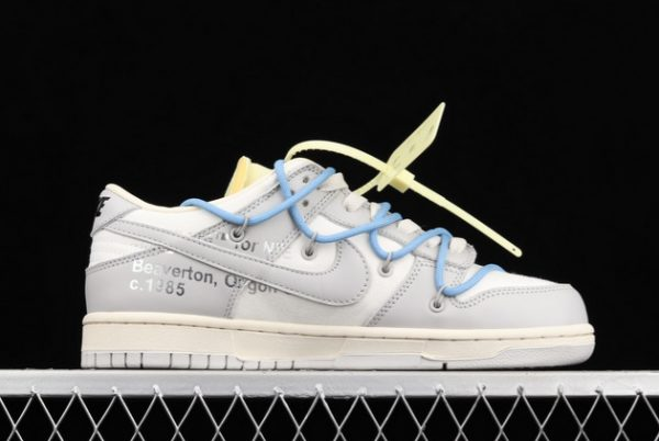 2021 CHEAP DM1602-113 OFF-WHITE X NIKE DUNK LOW 04 OF 50 FOR SALE-2