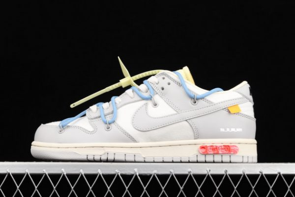 2021 CHEAP DM1602-113 OFF-WHITE X NIKE DUNK LOW 04 OF 50 FOR SALE