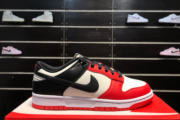 2021 Latest DD3363-100 NBA x Nike Dunk Low EMB Chicago For Sale