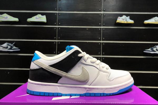 2021 New BQ6817-101 Nike SB Dunk Low Laser Blue For Sale