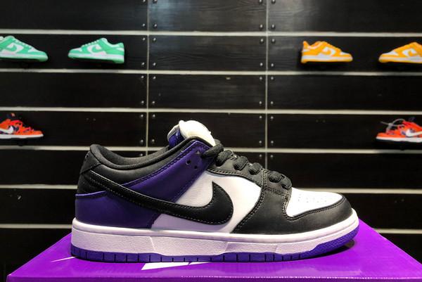 2021 New BQ6817-500 Nike SB Dunk Low Court Purple For Sale
