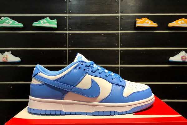 2021 New DD1391-102 Nike Dunk Low University Blue For Sale
