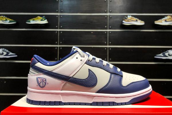 2021 New DD3363-001 NBA x Nike SB Dunk Low Brooklyn Nets 75th Anniversary For Sale