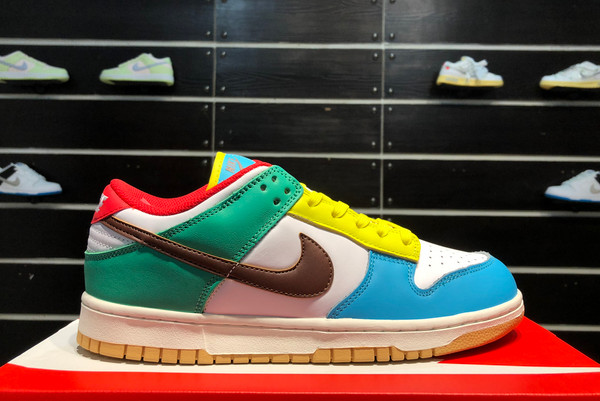 2021 New DH0952-100 Nike Dunk Low SE Free 99 White For Sale