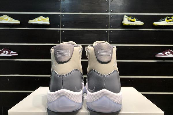 2021 Cheap CT8012-005 Air Jordan 11 Cool Grey Medium Grey White-Cool Grey-7