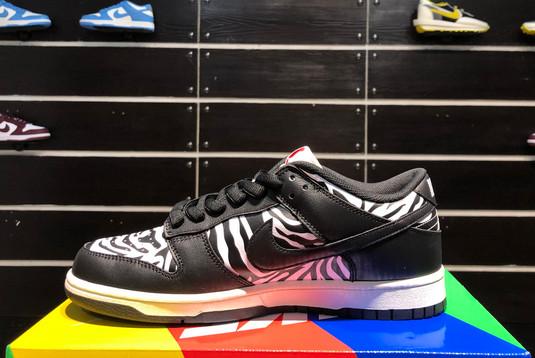 2021 Cheap DM3510-001 Quartersnacks x Nike SB Dunk Zebra-1