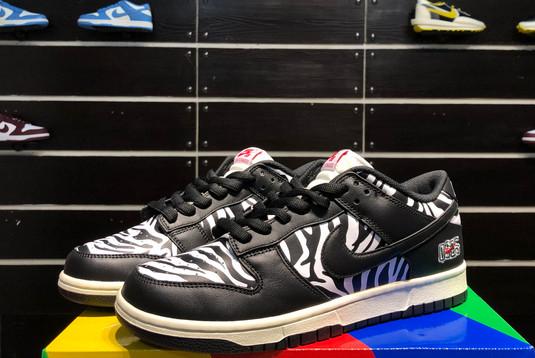 2021 Cheap DM3510-001 Quartersnacks x Nike SB Dunk Zebra-2