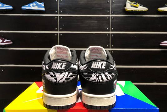 2021 Cheap DM3510-001 Quartersnacks x Nike SB Dunk Zebra-4