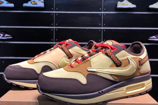 2021 Cheap DO9392-200 Travis Scott x Nike Air Max 1 Cactus Jack-2