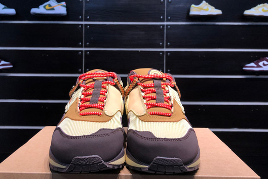 2021 Cheap DO9392-200 Travis Scott x Nike Air Max 1 Cactus Jack-3