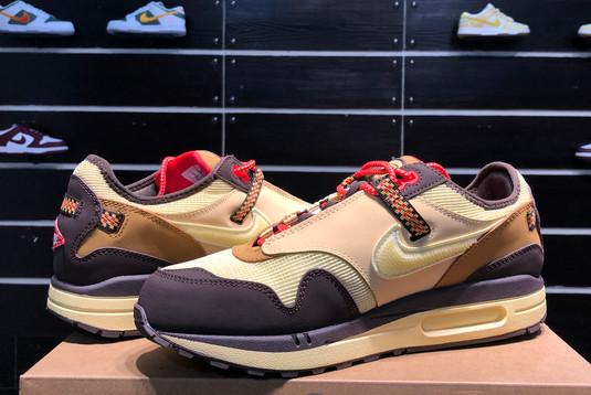 2021 Cheap DO9392-200 Travis Scott x Nike Air Max 1 Cactus Jack-5