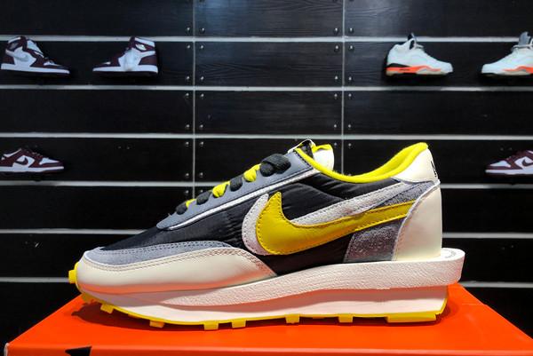 2021 Cheap Undercover x Sacai x Nike LDWaffle Bright Citron DJ4877-001-1