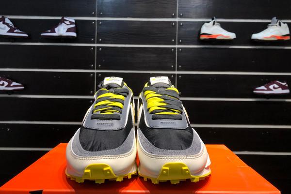 2021 Cheap Undercover x Sacai x Nike LDWaffle Bright Citron DJ4877-001-2
