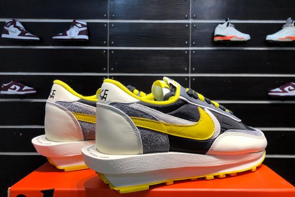 2021 Cheap Undercover x Sacai x Nike LDWaffle Bright Citron DJ4877-001-5