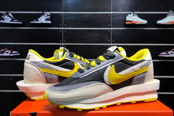 2021 Cheap Undercover x Sacai x Nike LDWaffle Bright Citron DJ4877-001-6