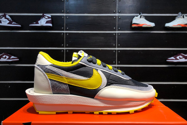 2021 Cheap Undercover x Sacai x Nike LDWaffle Bright Citron DJ4877-001