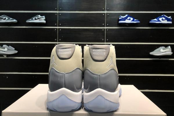 2021 Latest Air Jordan 11 Cool Grey CT8012-005-7
