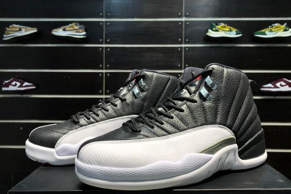 2021 Latest Air Jordan 12 Retro Playoffs 130690-001-4