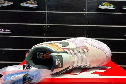 2021 Latest Nike Dunk Low SE Sail Multi-Camo DH0957-100-6
