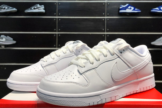 2021 Latest Nike Dunk Low Triple White DD1503-109-1