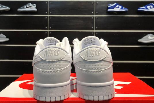 2021 Latest Nike Dunk Low Triple White DD1503-109-5