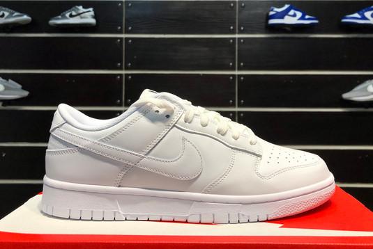 2021 Latest Nike Dunk Low Triple White DD1503-109